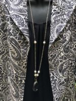 Crystal & Pearl Necklace