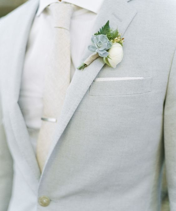 Going Gray for the Groom and Groomsmen