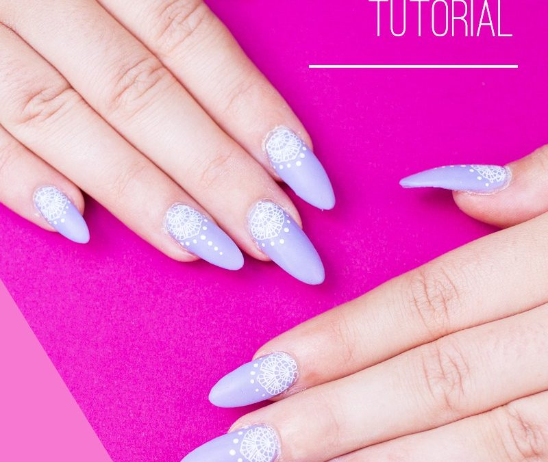 LACE & HENNA INSPIRED NAIL TUTORIAL