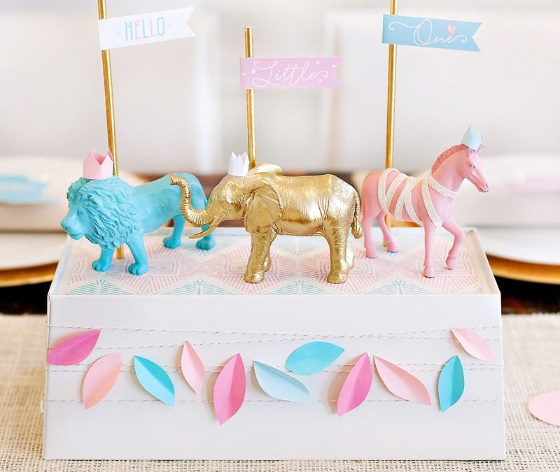 Royal Safari Baby Shower Theme + How to Effectively Package Your Party with Paper