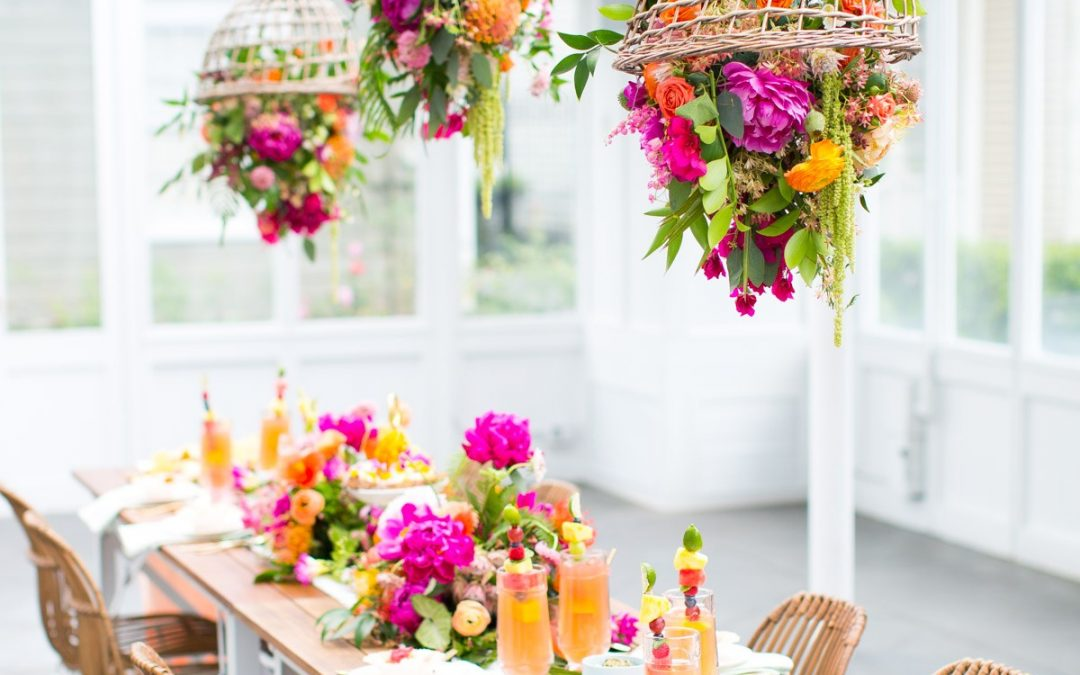 Tropical Greenhouse Bridal Shower Inspiration